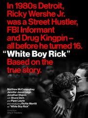 Poster for 'White Boy Rick'