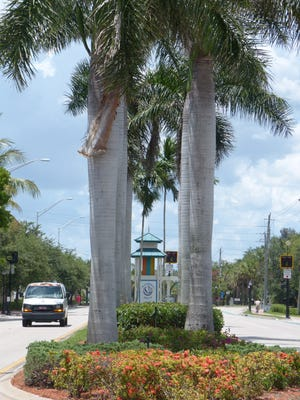 A post on Bayshore Drive welcomes locals and tourists to the area. In recent years, Bayshore has seen improvements in infrastructure, crime rates and beautification and continues to see changes.