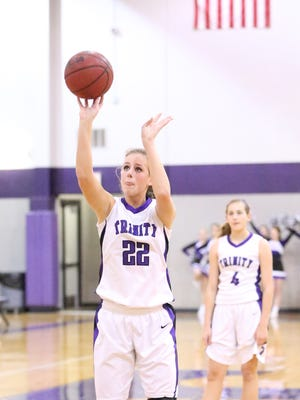TCA's Savannah Lee had 26 points and 15 rebounds in a win over Middleton this week.