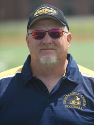 Chuck Tinninis, Greencastle-Antrim head football coach.