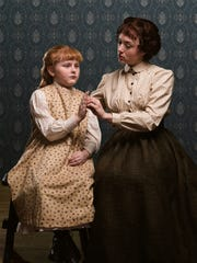 Marina Shay as Anne Sullivan and Brooklyn Norstedt