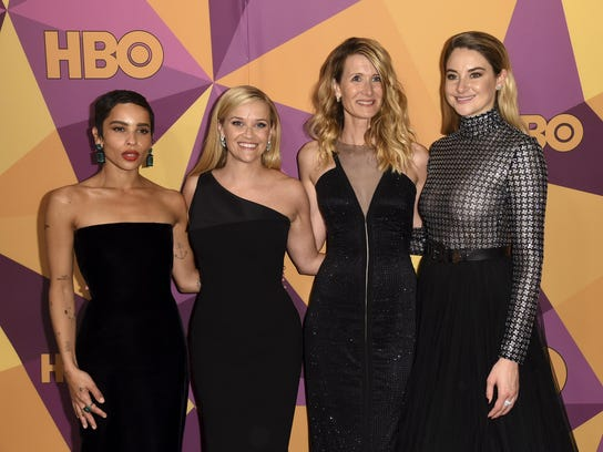 Zoe Kravitz,Reese Witherspoon,Laura Dern,Shailene Woodley