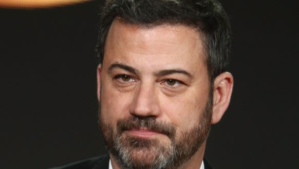 Jimmy Kimmel goes where he has ever gone before on