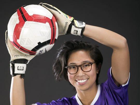 Chandler Arizona College Prep soccer player Zoe Agundo