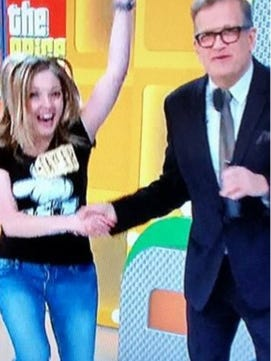 Tayler Coates of Cedar City appeared on The Price is Right December 17. The episode aired March 11.