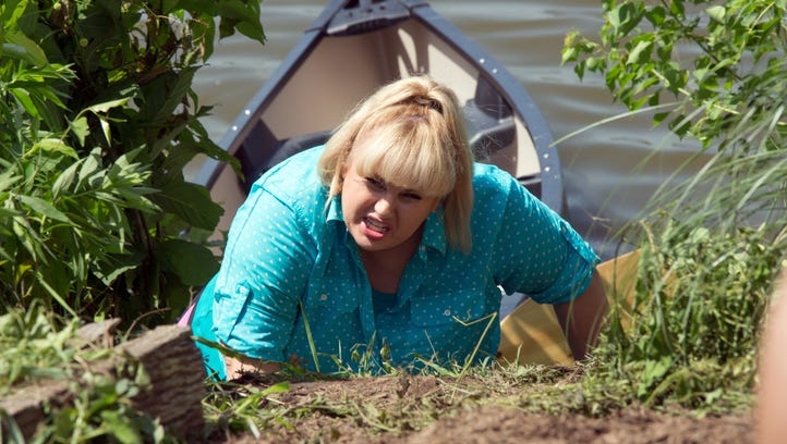 Rebel Wilson returns as Fat Amy in the sequel 'Pitch Perfect 2.'
