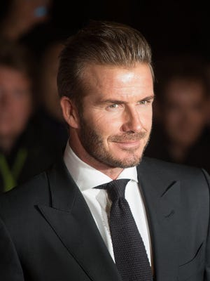David Beckham, 40, now holds more than just athletic titles.