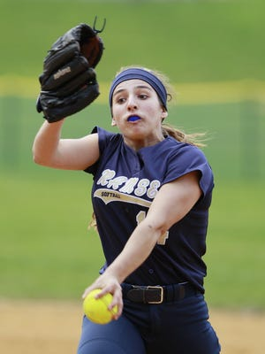 Ramsey sophomore pitcher Victoria Sebastian entered Sunday 17-0 with a 0.87 ERA and 132 strikeouts.