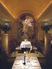 With arches, frescos and crisp white linens at Sale e Pepe, blink and you just might think you're in Italy.