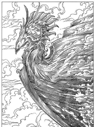 coloring pages fantasy adults - photo#19