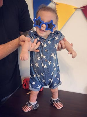 Cash Macchiarolo is ready to party! There will be a fundraiser for Cash, who was born five weeks premature and suffers from a heart condition, from 2 - 6 p.m. Sunday, July 9 at La Tavola restaurant.