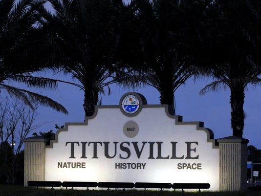 TITUSVILLE SIGN