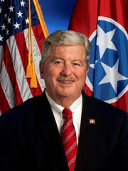 Lt. Gov. Randy McNally, R-Oak Ridge.