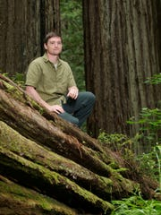 Steve Sillett is a professor at Humboldt State University, and the person who co-discovered the Grove of Titans in Jedediah Smith Redwoods State Park.