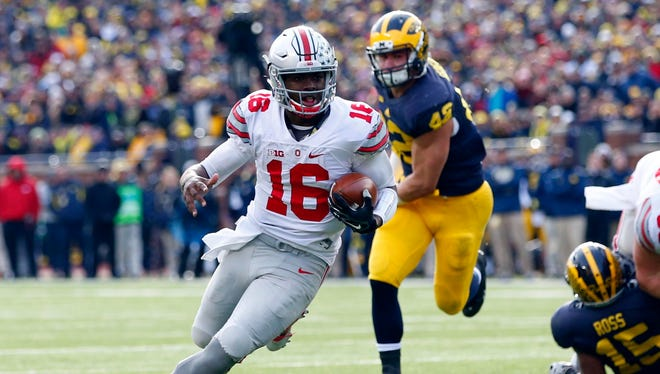 Could Ohio State and J.T. Barrett meet Michigan twice this season?