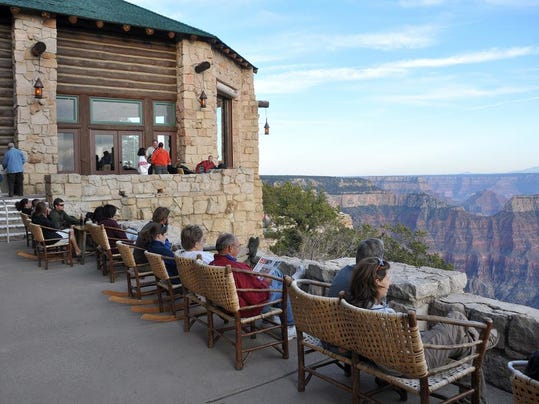 Lodge at the North Rim art