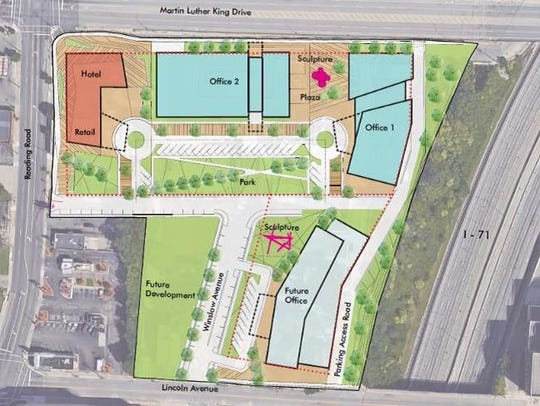 The site plan for the new Avondale project from Terrex