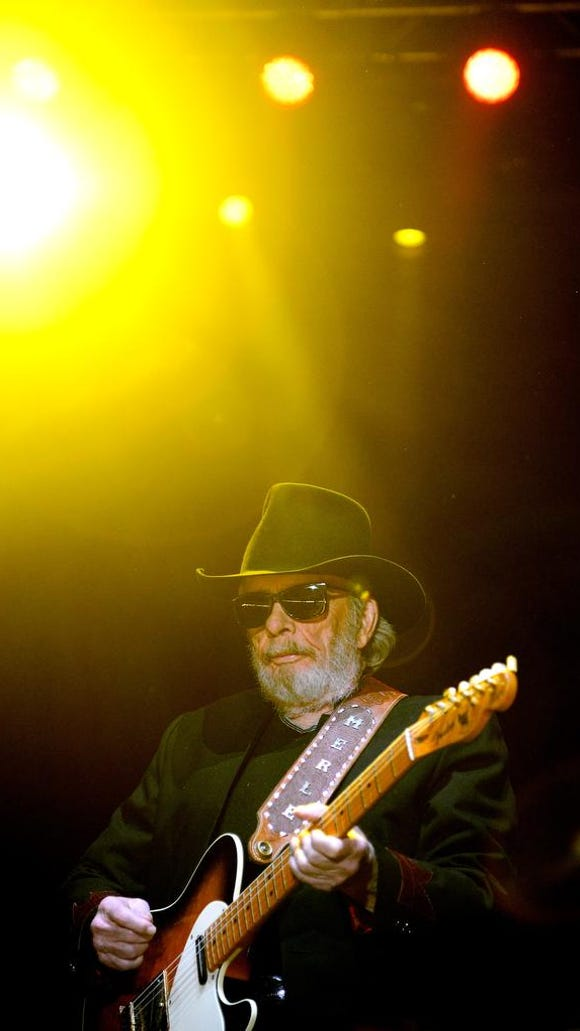 Merle Haggard will bring his legendary country songs to Dover's Big Barrel Country Music Festival Sunday night at 7.