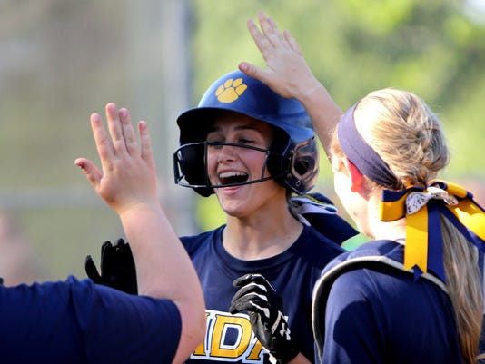 Holy Cross vs NDA District Final Softball