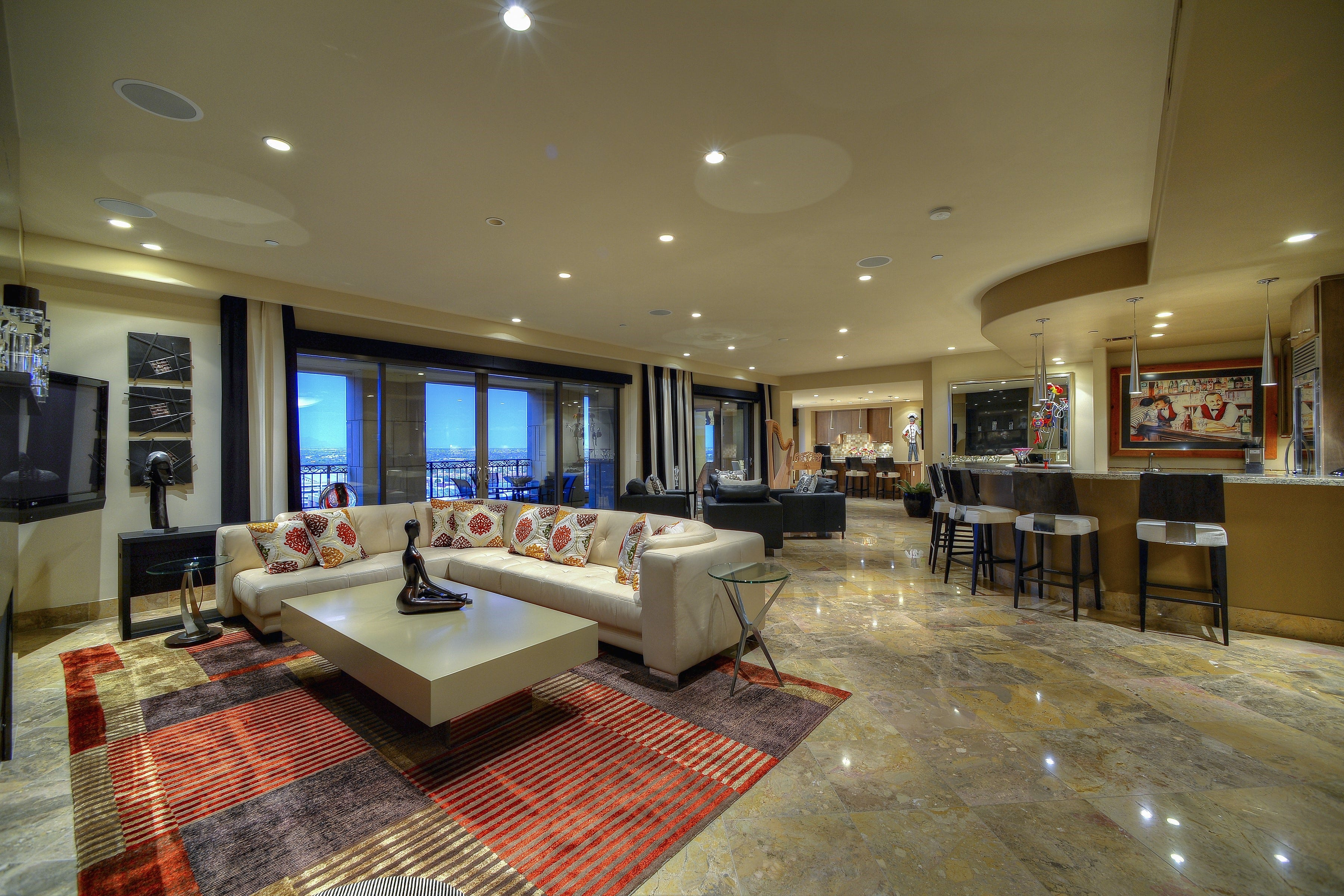 Luxury homes: $2.6M Scottsdale condo features a theater room