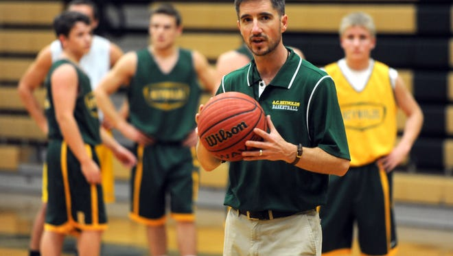 Reynolds boys basketball coach Clint Loftin.