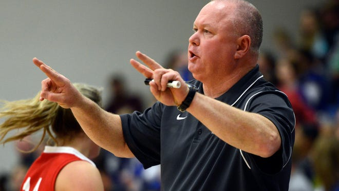 Erwin girls coach Terry Gossett has the Warriors off to a 6-0 start.