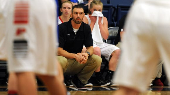 Pisgah girls basketball coach Brandon Holloway and the Black Bears are 15-0 after Friday's win in Sylva.