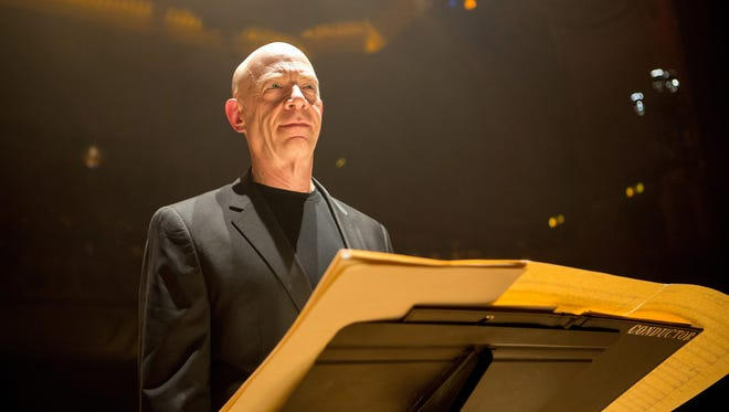 """J.K. Simmons as Fletcher in a scene from the motion picture """"Whiplash."""""""