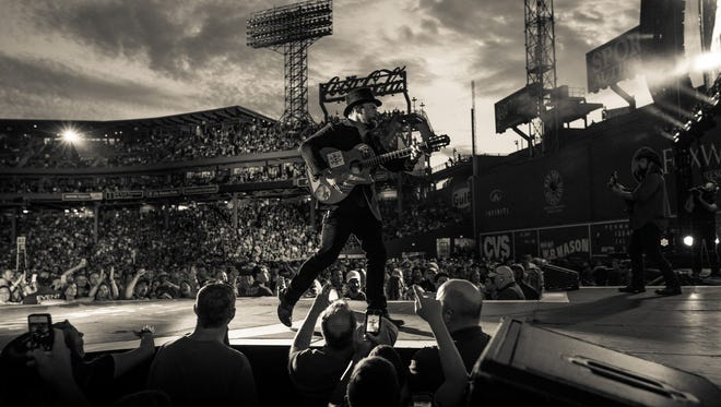 Zac Brown performs at Boston's Fenway Park in 2014.