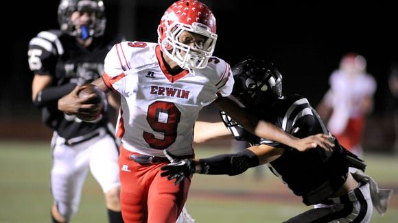 Erwin's Chavis Williams has signed to play college football for Tusculum (Tenn.).