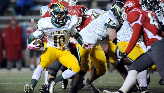 Reynolds rising senior Rico Dowdle (10) has scholarship offers from Boston College and Wake Forest.