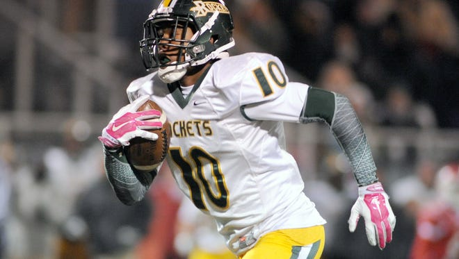 Reynolds rising senior Rico Dowdle was the 2014 Mountain Athletic Conference Offensive Player of the Year.