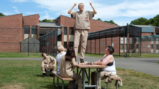 """""""Orange is The New Black"""" films in Rockland County."""