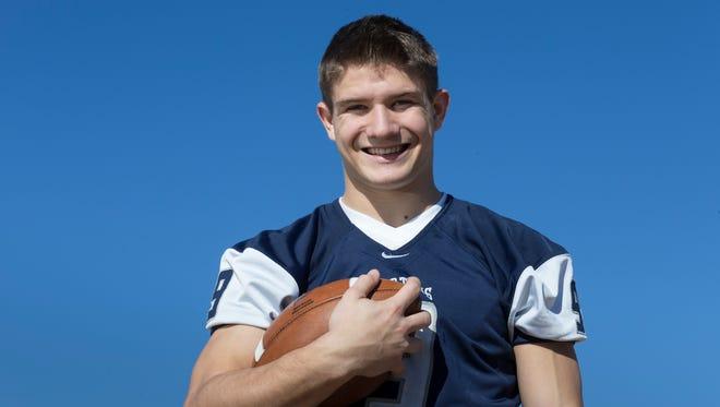 Former Scottsdale Prep wide receiver Matt Munsil.