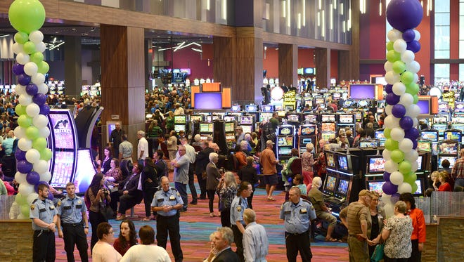 Harrah's Cherokee Valley River Casino and Hotel in Murphy officially opened for business with a grand opening ceremony and ribbon cutting on Sept. 28, 2015.
