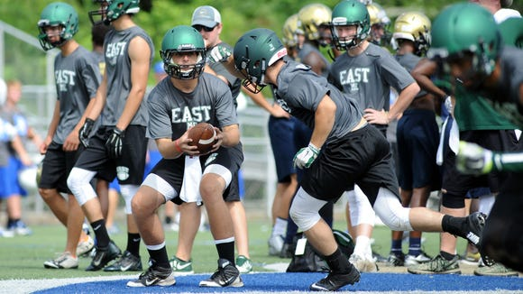 East Henderson snapped a nine-game losing streak with Friday's win over Brevard in East Flat Rock.