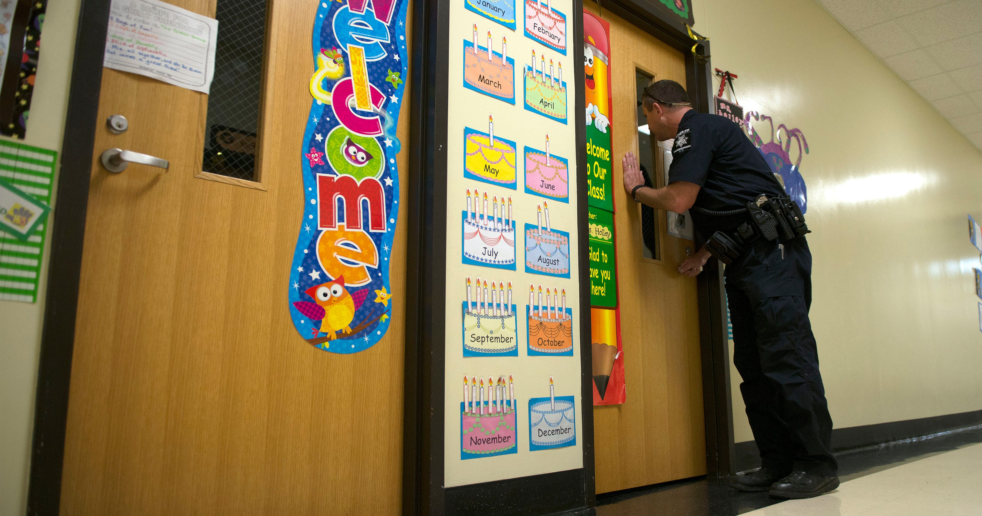 WNC schools have already seen several lockdowns this year