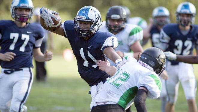 Rashad Morrison (11) and Asheville School are home for Saturday's rivalry game against Christ School.