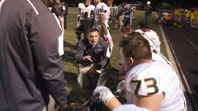 Reynolds coach Shane Laws and the Rockets are home for Friday's football game against North Buncombe.