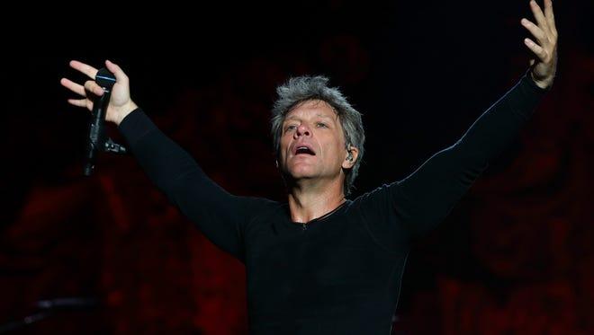Jon Bon Jovi in Singapore.