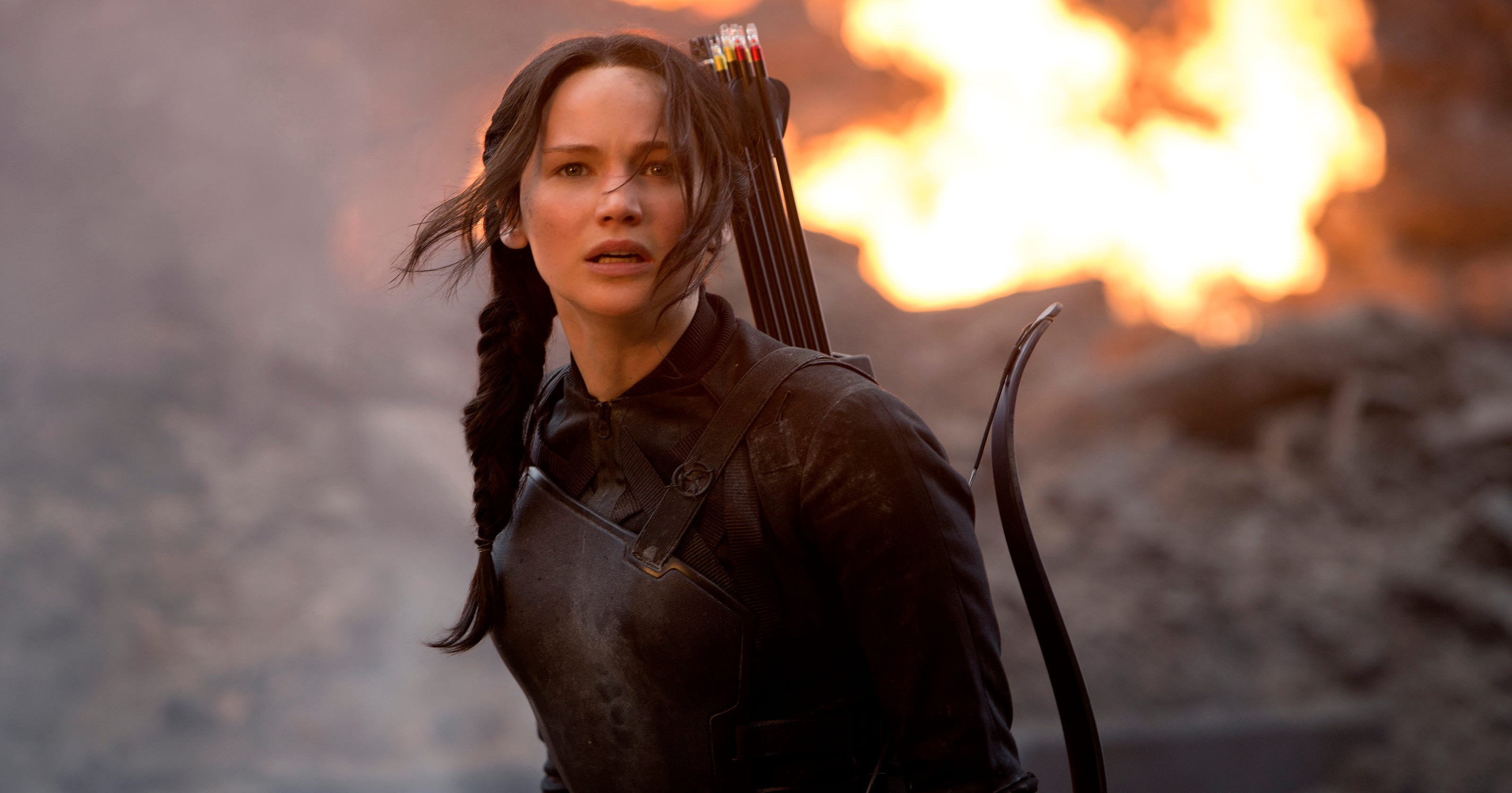 Image result for jennifer lawrence hunger games