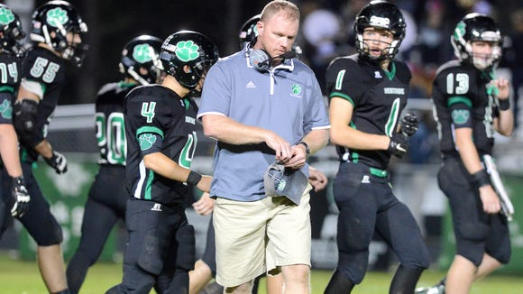 Mountain Heritage football coach Joey Robinson and the Cougars have reached the third round of the 2-A state playoffs.
