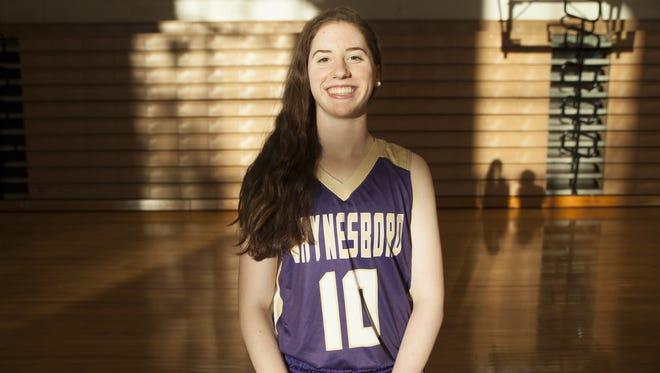 Kat Johnson, Waynesboro High School girls basketball