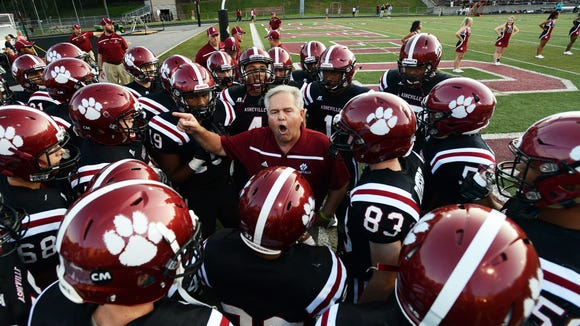 Asheville High football coach Danny Wilkins has announced his retirement.