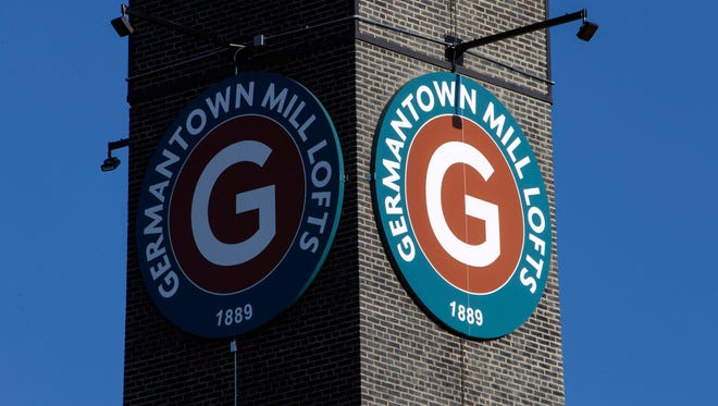 Germantown Mill Lofts on Goss Avenue once employed thousands in the early 1900s, and now has been converted to a 190-unit residential community while retaining its architectural beauty 12/4/15
