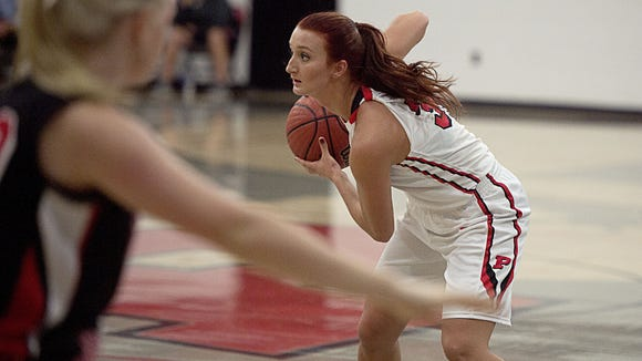 As of Tuesday night, Brooklyn Allen is the all-time leading scorer for Pisgah girls basketball.