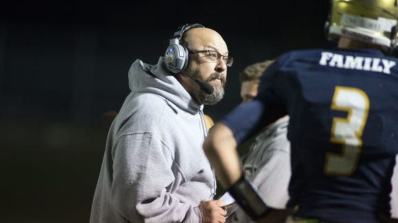 Chris Deal has resigned after two seasons as Roberson's football coach.