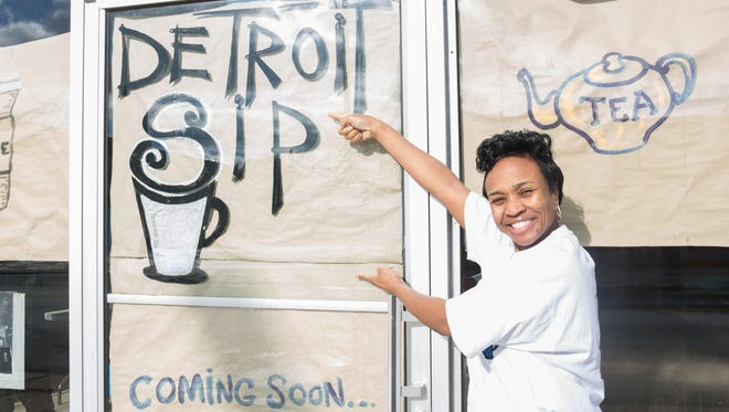 Owner Jevona Watson of Detroit Sip has been awarded a $35,000 grant from the Motor City Match program to help her establish her business.