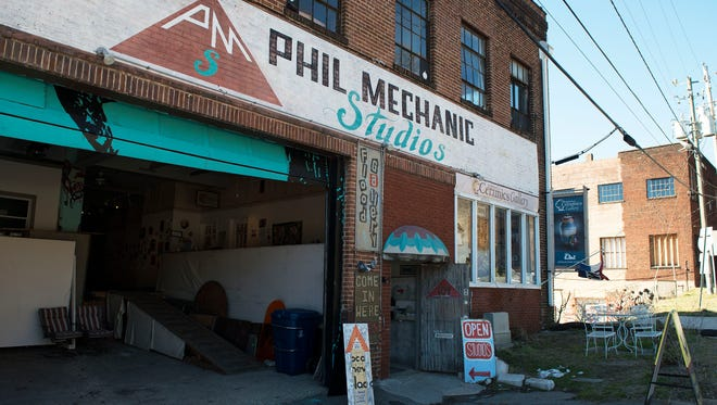 The Phil Mechanic Studios building, which was recently sold at 97 Roberts Street.