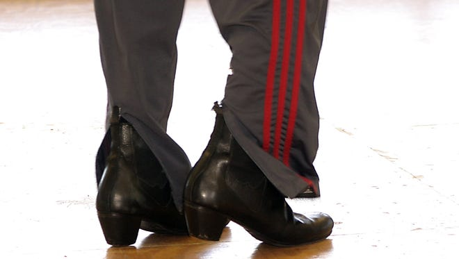 A file photo of Flamenco dance steps. The Hispanic Alliance will host La Fiesta on April 1, in the Huguenot Loft at the Peace Center.  The celebration will include flamenco performances, Latin music and Spanish cuisine.